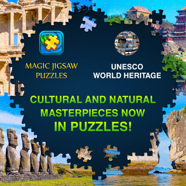 UNESCO World Heritage photographic puzzle series