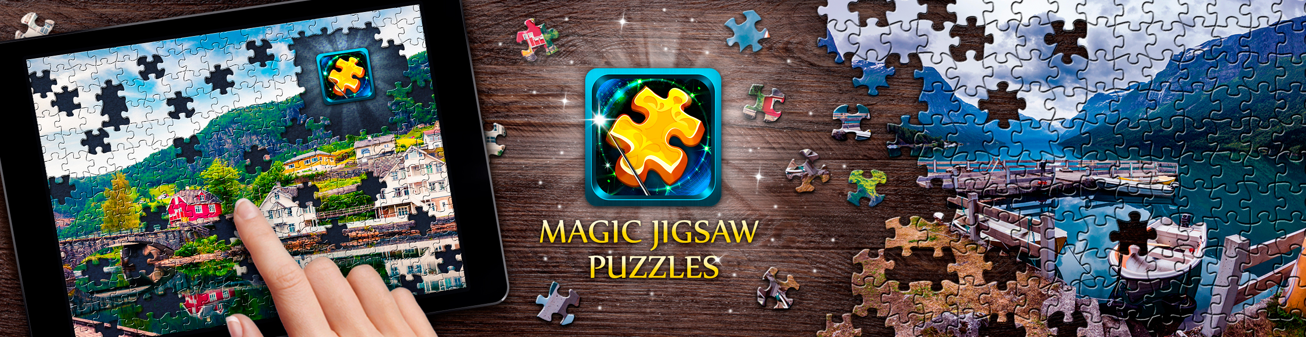 Magic Jigsaw Puzzles баннер