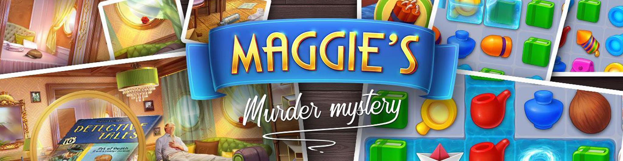Maggie's Murder Mystery баннер