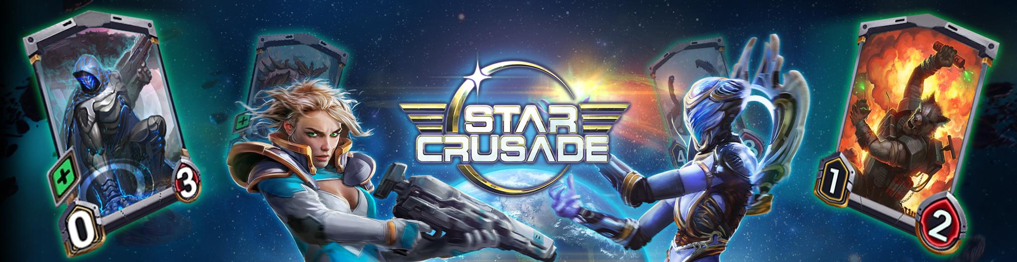Star Crusade CCG banner